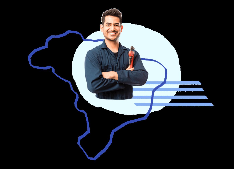 Prestadores treinados pela Porto Seguro em todas as regiões do Brasil