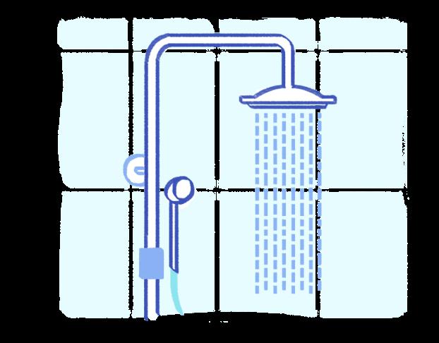 Instalação de Chuveiro